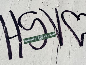 »Hambourg est vert et blanc.«